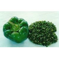 Buy cheap 2016 FreshorFreeze DriedChili 5*5mm,6*6mm,9*9mm Air-dried Green Pepper 200MT for Stock from wholesalers