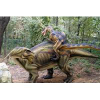 China Waterproof Realistic Robotic Simulation Animatronic Dinosaur For Kids Park on sale