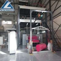 China High Speed S Sigle Beam Non Woven Making Machine For shoe covers wholesale