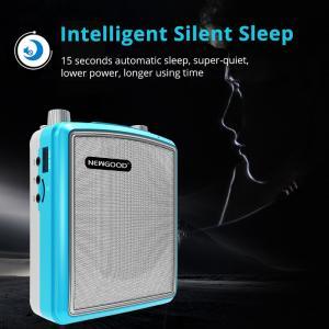 China Stereo Echo Pa Amplifier UHF Headset Wireless Microphone Loud Speaker Intelligent Smart Wake Up Sleep Auto Connecting on sale