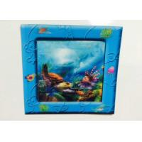 China OEM Lenticular 3D Refrigerator Magnetst Photo Frames With Ocean wholesale