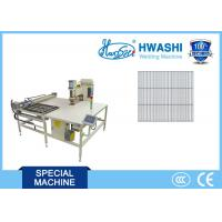 China Hwashi 12 Volt Automatic Welded Wire Mesh Machine X Y Axis Feeder Three Phase Power Source wholesale