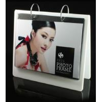 China white calender shape acrylic collage photo frames wholesale