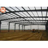 China High Strength Prefabricated Steel Structure Warehouse Waterproof And Fireproof wholesale