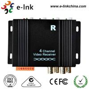 China CCTV Camera Active UTP Video Extender Receiver PAL / NTSC/ SECAM Compatible Format wholesale
