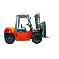 Durable Warehouse Lifting Equipment 5 Ton Diesel Forklift With Side Sliding Fork