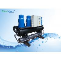 China Air Conditioner Water Cooled Scroll Chiller Plate Type Water To Water Chiller wholesale