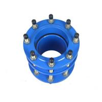 China Stainless Steel Cast Iron Pipe Fittings Dismantling Joint Flexible Types Mechanical Joints wholesale