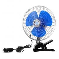 China 12V/24V Car Cooling Fan One Year Warranty With Half Safety Metal Guard wholesale
