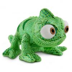 Green Cartoon Disney Plush Toys Pascal angled Stuffed Animals Custom