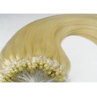 Buy cheap Hot Selling 100 Remy Human Micro Ring Indian Remy Hair Extensions For Women from wholesalers