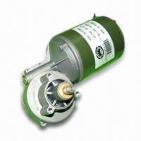 China DC Geared/Worm Motor with 80mm Diameter, Powerful and Stable wholesale