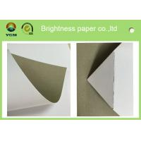 China 250gsm 0.31mm Printed Cardboard Sheets , Recycled Mixed Pulp A4 Cardboard Paper on sale