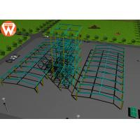 China Light Steel Prefab Auxiliary Equipment Steel Warehouse For Animal Feed Plant wholesale