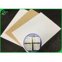 China 100% Virgin Pulp Coated Kraft Paper Roll For Making Fast Food Tray wholesale