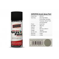 China Ship Grey Car Spray Paint 400ml Volume SGS For Building / Furniture on sale