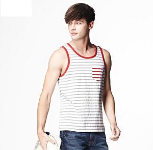 China wholesale custom men vest, mens tank top printing on sale