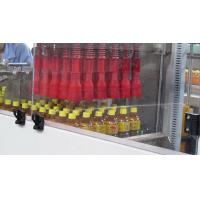 China Empty Juice / Beer Bottle Automatic Carton Packing Machine 50HZ / 60HZ wholesale