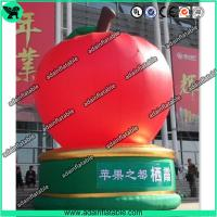 China The Giant Event Advertising Inflatable Apple Fruits Replica Model wholesale