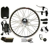 """Buy cheap CE approved 26"""" or 28"""" electric bike conversion kits Full Package with 10AH li from wholesalers"""