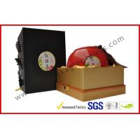 China Handmade Special Paper Porcelain Gift Packaging Boxes , 3D Butterfly Rigid Board Gift Box with Lock wholesale
