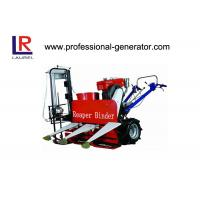 Buy cheap 8HP Wheat Reaper Binder Mini Wheat Reaper Binder with 180 water cooling diesel from wholesalers