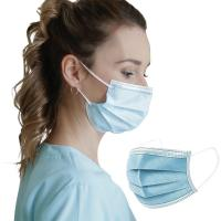 China Personal Safety Disposable Mouth Mask 3 Layer Non Woven Earloop Procedure Masks wholesale