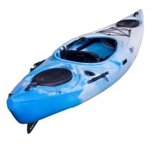China Customized Plastic Water Park Rides Equipment Single Fishing Kayak And Boat wholesale