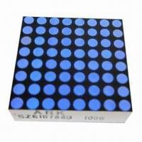 China 8 x 8 Dot-matrix LED Display, Suitable for Elevator Display, Comes in Blue/White wholesale