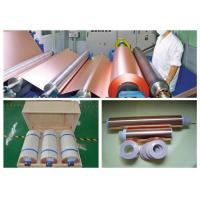 China 6 Mic LB Double Shiny ED Copper Foil , RoHS / SGS Approval Pure Copper Foil wholesale