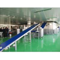 China Siemens PLC Industrial Pizza Production Line For Wide Various Diameter Pizza Crust wholesale