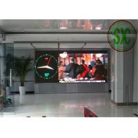 China HD High Resolution LED Display 180Hz 1000CD / m2 For Bus Station wholesale
