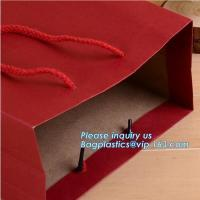 China New hot sale brown packaging paper carrier bag take away fast food paper bag,packaging paper bags with logo large flat k wholesale