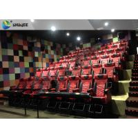 China 4D 5D Movie Theater with Bubbles / Wind / Snow / Smoke/ Fog Effect wholesale