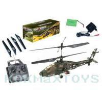 China Apache RC Electric Military Gyro Helicopter R/C Toys on sale
