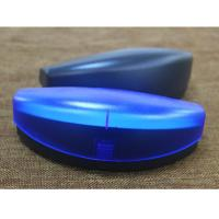 China Protective Safety Plastic Clamshell Glasses Case Black Blue Red Green Color wholesale
