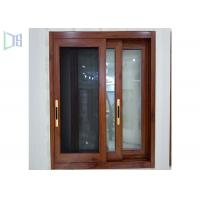 Red Subframe Powder Coated Aluminium Windows And Doors For Commercial / Villa