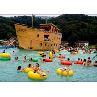 Artificial surf wave pool outdoor waves swimming pool for water park of waterplayground for Artificial swimming pool for sale