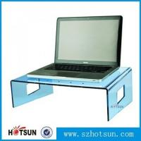 China wholesale custom factory price clear acrylic laptop stand wholesale
