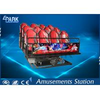 China Horrible Movies 5D Simulator Ride Dynamic Motion Platform With Simplest Structure on sale