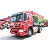 China Howo 4X2 371 Hp Tractor Head Trucks ZZ4187S3511W For Pulling Low Bed Semi Trailer wholesale