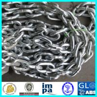China Galvanzied Ship Used Grade 3 Stud Link Anchor Chain With LR,BV,CCS,NK,ABS wholesale