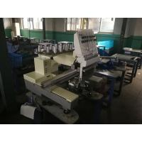 Single Head 15 Needles Embroidery Machine For Clothing 50 / 60Hz