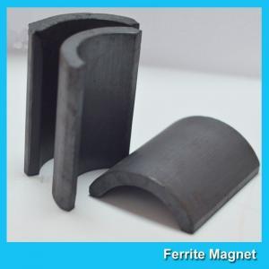 China Y30BH C5 C8 Grade Ferrite Arc Magnet For BLDC Ceiling Fan Motor Eco Friendly on sale