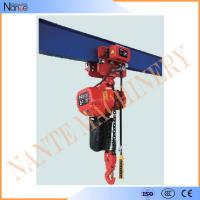 China Single Phase IP54 / IP55 3 Ton Electric Chain Hoist With Pendent Control on sale