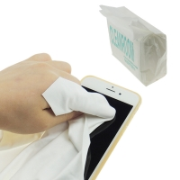 China Anti Static Esd Microfiber Cleanroom Wiper 140gsm Polyester wholesale