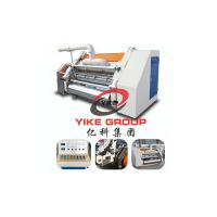 China Single Face Line , Corrugated Carton Making Machine 1400mm Width For Corrugated Sheet wholesale