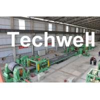 China 0.3 - 3.0mm / 0.5 - 3.0mm Steel Coil Cut To length Machine Line With Auto Stacker System wholesale