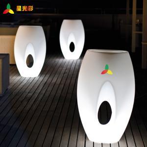 China White Outdoor Lawn And Garden Decor Polyethylene Egg Shape Flower Pot wholesale