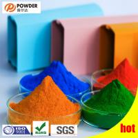 Buy cheap Electrostatic Polyester Powder Coating , Transparent Powder Coat Smooth Surface from wholesalers